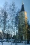 Kétszer újjáépített templom az óvárosban (Sightseeing - Orientation Day 3 / Oulu University of Applied Sciencies)